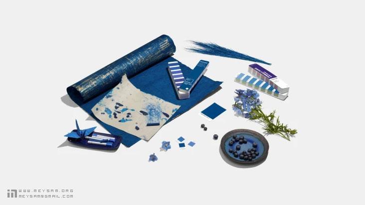 آبی کلاسیک رنگ سال 2020